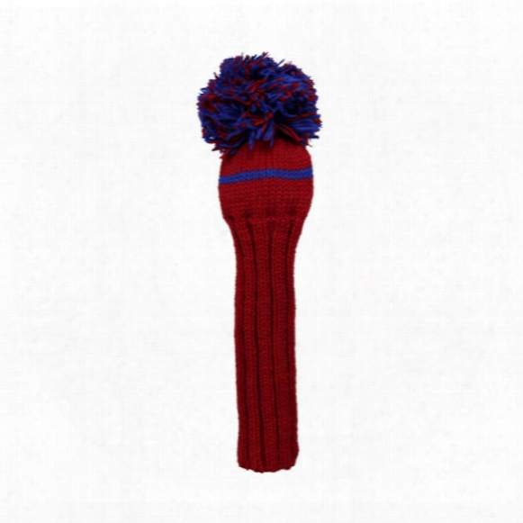 Sunfish Pom Knit Headcover - Driver
