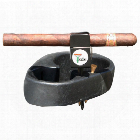 T-clip Cigar/club Holder With Ball Marker