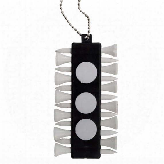Tee Holder W/ball Markers & Tees