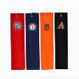 MLB Embroidered Tri-Fold Towel