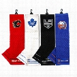 NHL Embroidered Scrubber Towel