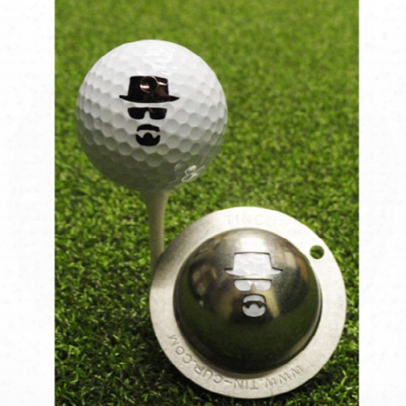 Tin Cup Custom Ball Marker - Incognito