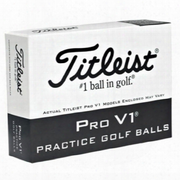 Titleist Pro V1 Practice Golf Ball