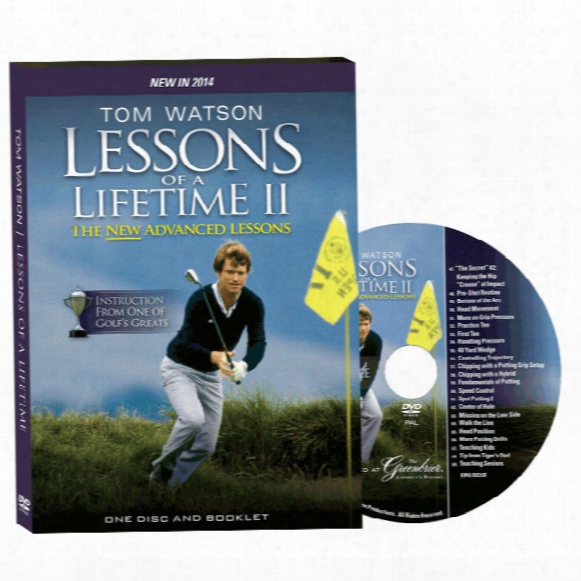 Tom Watson: Lessons Of A Lifetime Ii Dvd