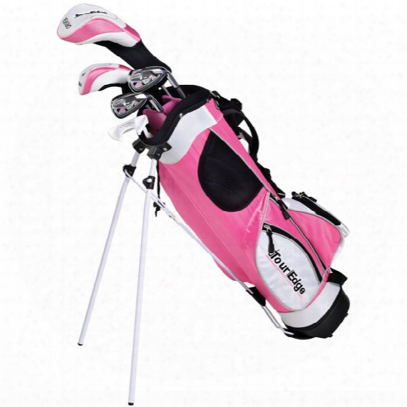 Tour Edge Juniors' Ht Max-j 5x2 Pink Set - Ages 9-12