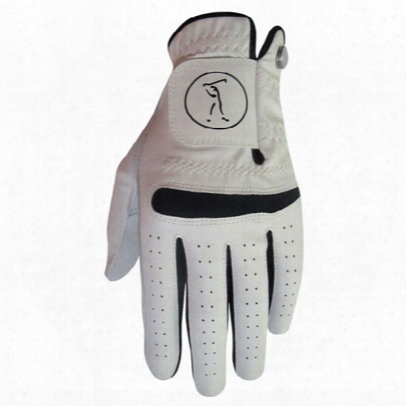Tour X Men's Deluxe Leather/synthetic Gloves