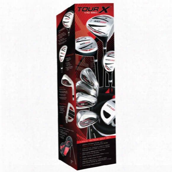 Tour X Mg 550 16pc Package Set - Graphite/steel