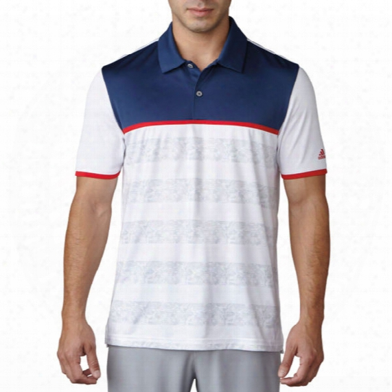 Adidas 2d Camo Stripe Men's Polo