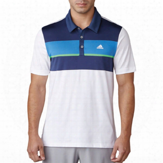 Adidas Men's Engineered Block Polo