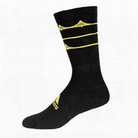 Adidas Men's Limited Edition U.s. Open Inspired Crew Socks