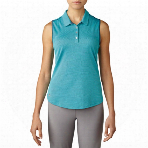 Adidas Microdot Sleeveless Women's Polo