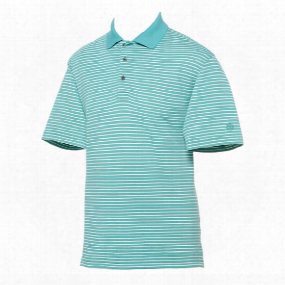 Ben Hogan Men's 2-color Striped Short Sleeve Polo