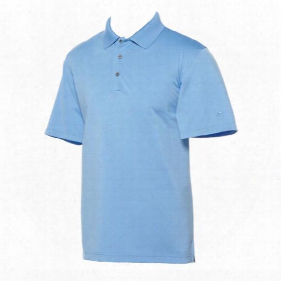 Ben Hogan Men's Horizontal Texture Short Sleeve Polo