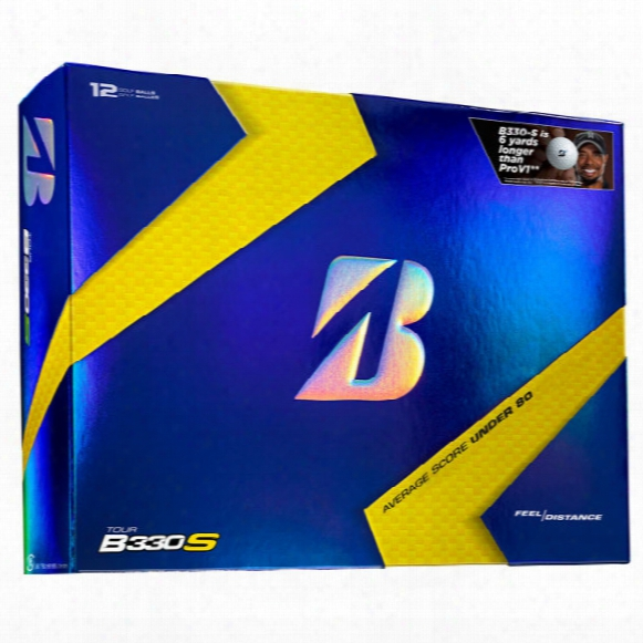 Bridgestone Men's B330 S Personalized Golf Balls