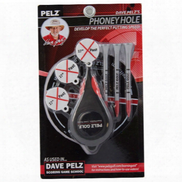 Dave Pelz's Phoney Hole Putting Speed Trainer