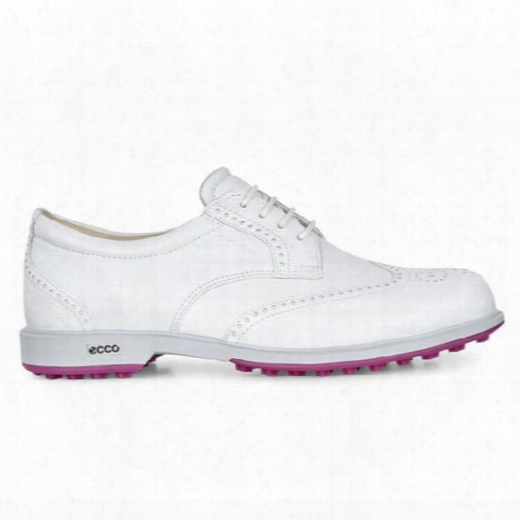 Ecco Women's Classic Hybrid Wingtip Golf Shoes