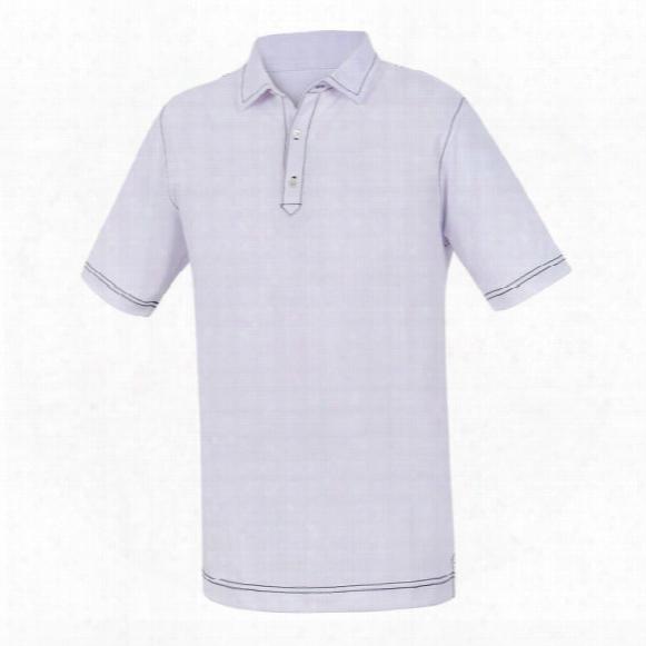 Fj Juniors Stretch Pique Contrast Stitch Ppolo Shirt