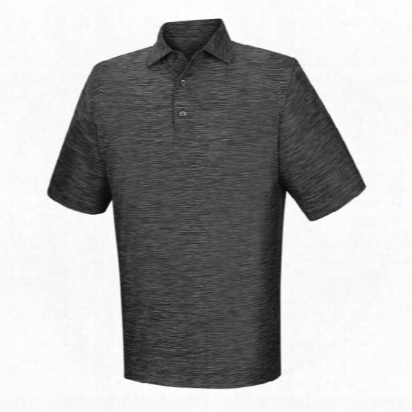 Fj Men's Lisle Space Dyed Self Collar Polo