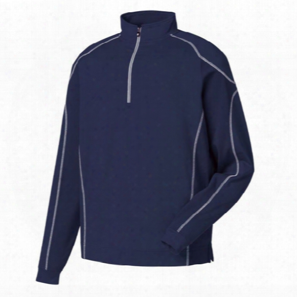 Fj Men's Mixed Texture Sport 1/2 Zip Pullover
