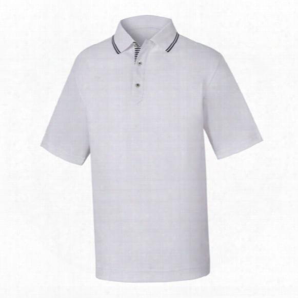 Fj Men's Smooth Pique Knit Collar Polo