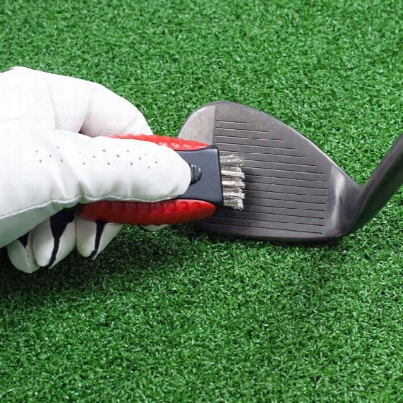 Jef World Of Golf Dual-sided Pocket Brush