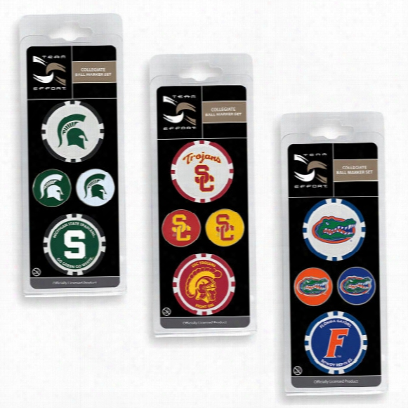 Ncaa Ball Marker Set