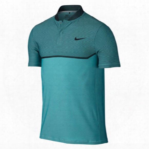 Nike Men's Fly Swing Knit Block Alpha Polo