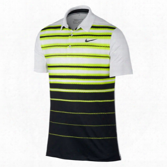 Nike Men's Mobility Fade Stripe Polo
