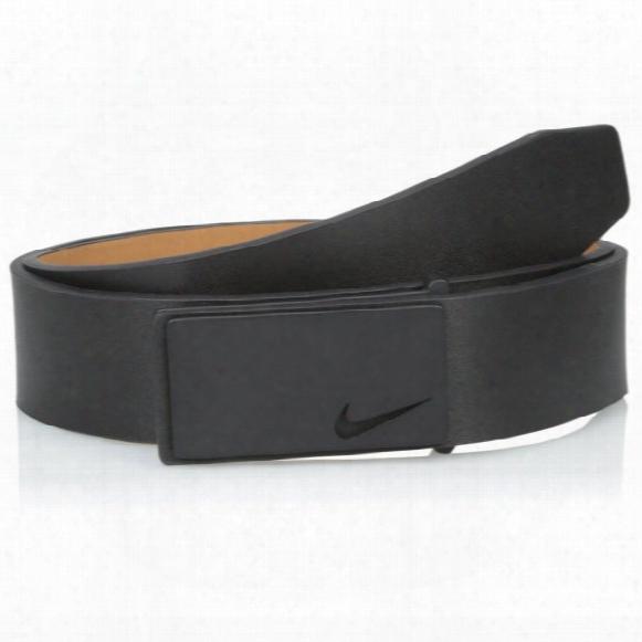 Nike Tonal Sleek Modern Plaque Mens Belt