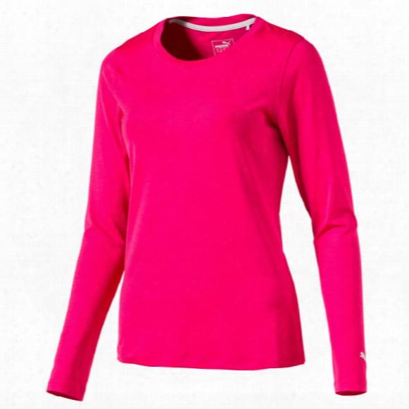 Puma Women's Far-seeing Sleeve Crew Shirt