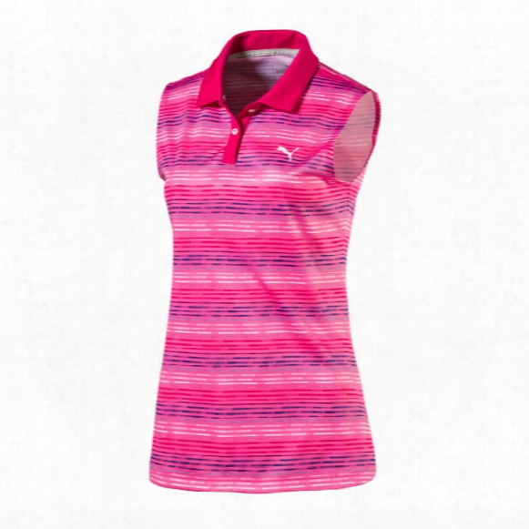 Puma Women's Road Map Sleeveless Polo