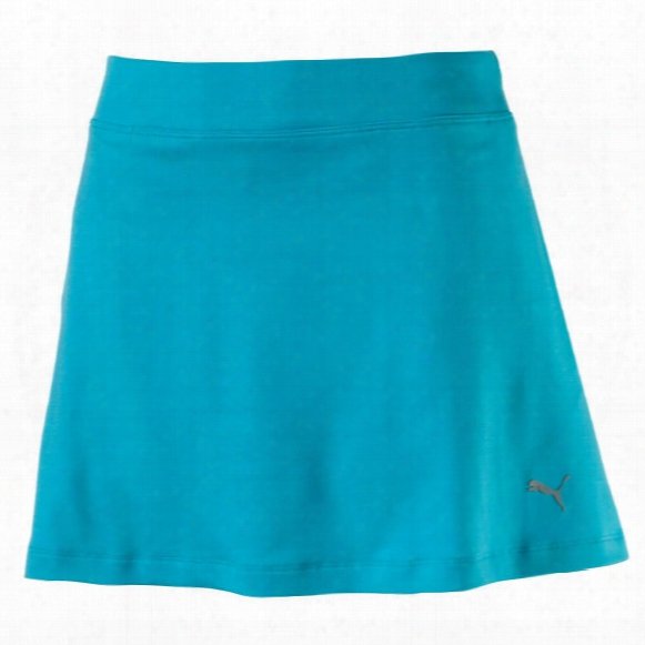 Puma Women's Solid Knit Skort