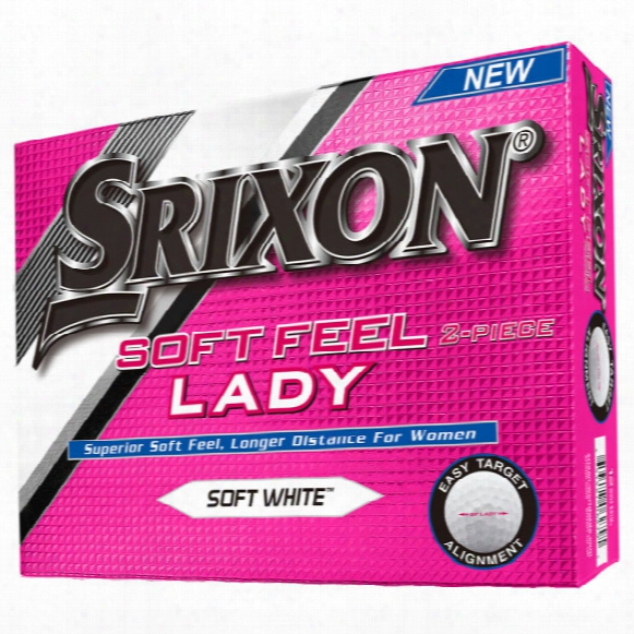 Srixon Soft Feel Lady Golf Balls