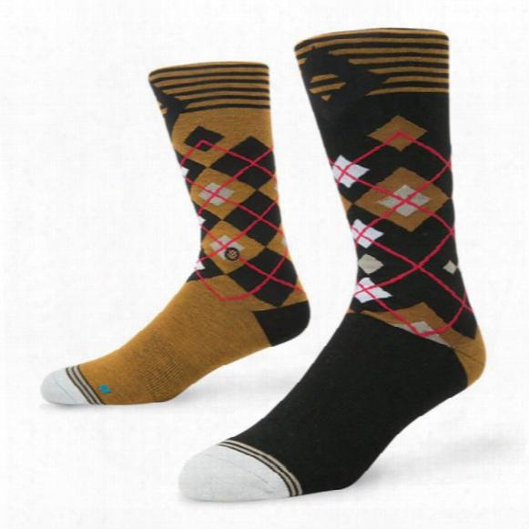Stance Men's Muirfield Golf Dress Crew Socks