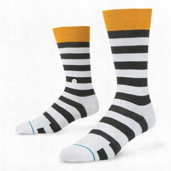 Stance Men's Putter Golf Dress Crew Socks