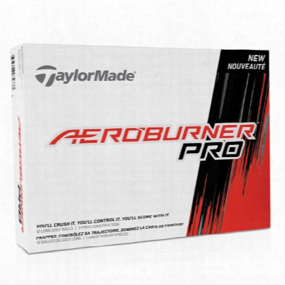 Taylormade Aeroburner Pro Personalized Golf Balls