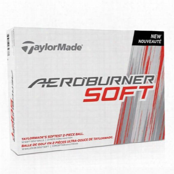 Taylormade Aeroburner Soft Personalized Golf Balls