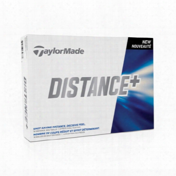 Taylormade Distance+ Personalized Golf Balls