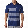 adidas Engineered Heather Stripe Men's Polo