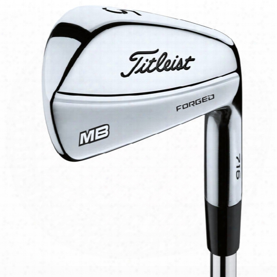 Titleist 716 Mb 8pc Iron Set - Steel