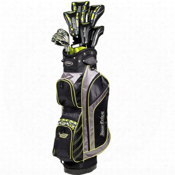 Tour Edge Bazooka 460 Black 12pc Package Set - Graphite