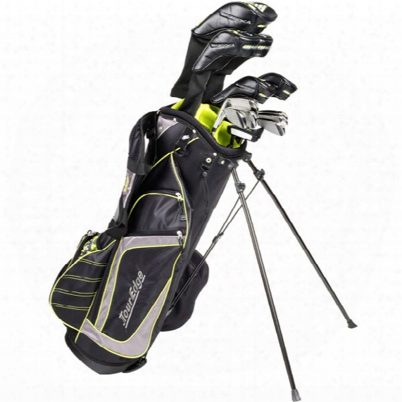 Tour Edge Bazooka 460 Black 12pc Package Set - Steel