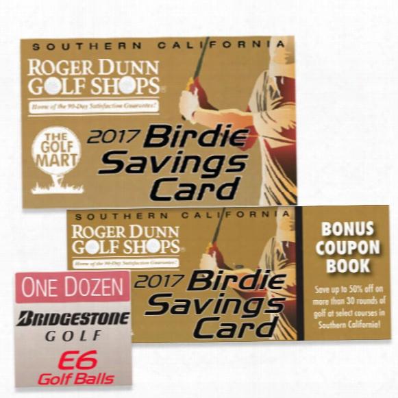 2017 Socal Birdie Savings Card