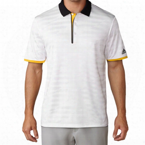 Adidas Men's Asymmetrical Stripe Polo