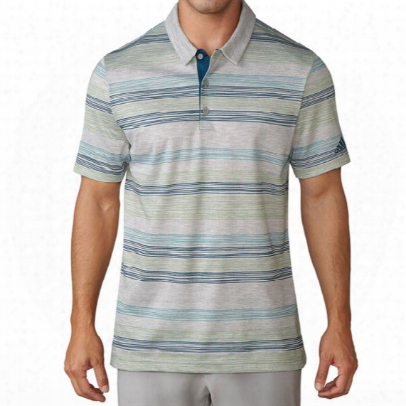 Adidas Men's Hand-drawn Pique Polo