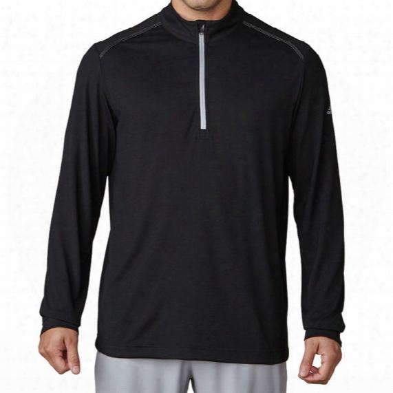 Adidas Men's Ultra Lightweight Upf 1/4 Zip Pullover