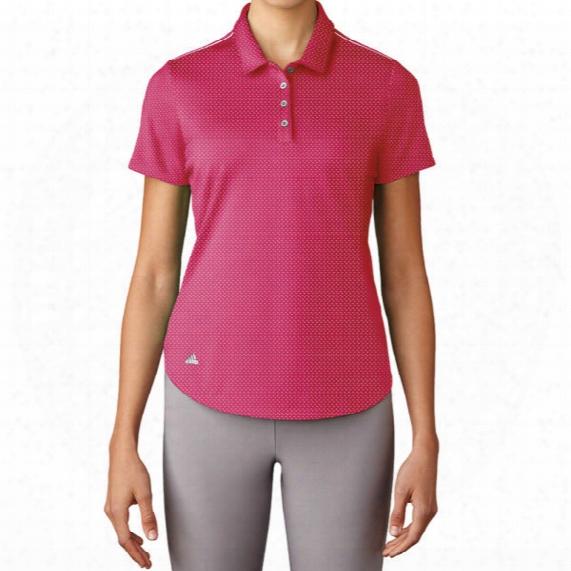 Adidas Women's Microdot Polo