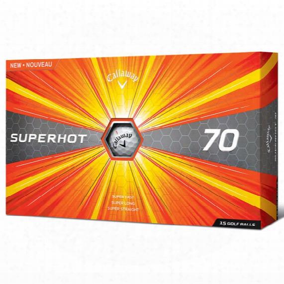 Callaway Superhot 70 Personalized Golf Balls