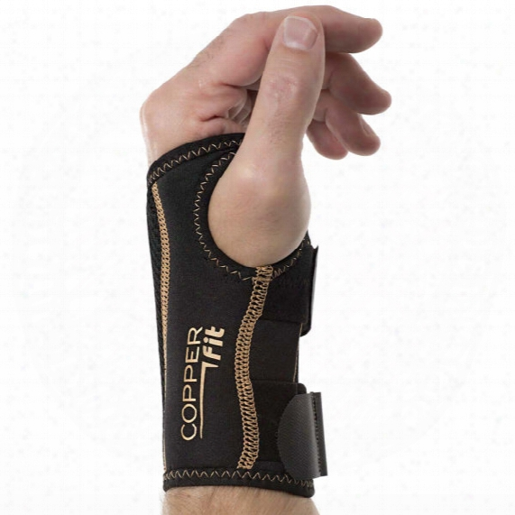 Copper Fit Compression Wrist Brace