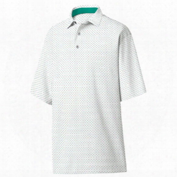 Fj Men?s Smooth Pique Dot Print Polo